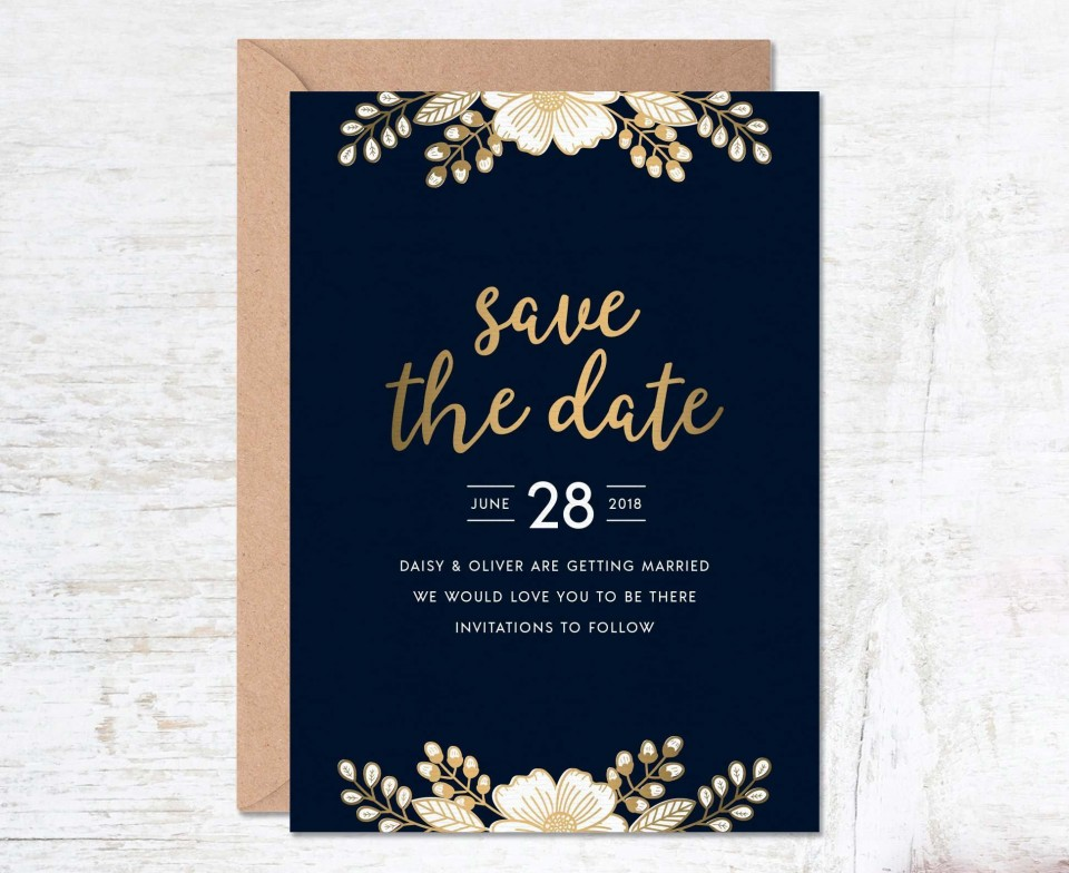 000 Unusual Free Save The Date Birthday Postcard Template Photo 960