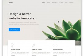 000 Unusual Free Simple Web Page Template Design  Html One Website Download With Cs
