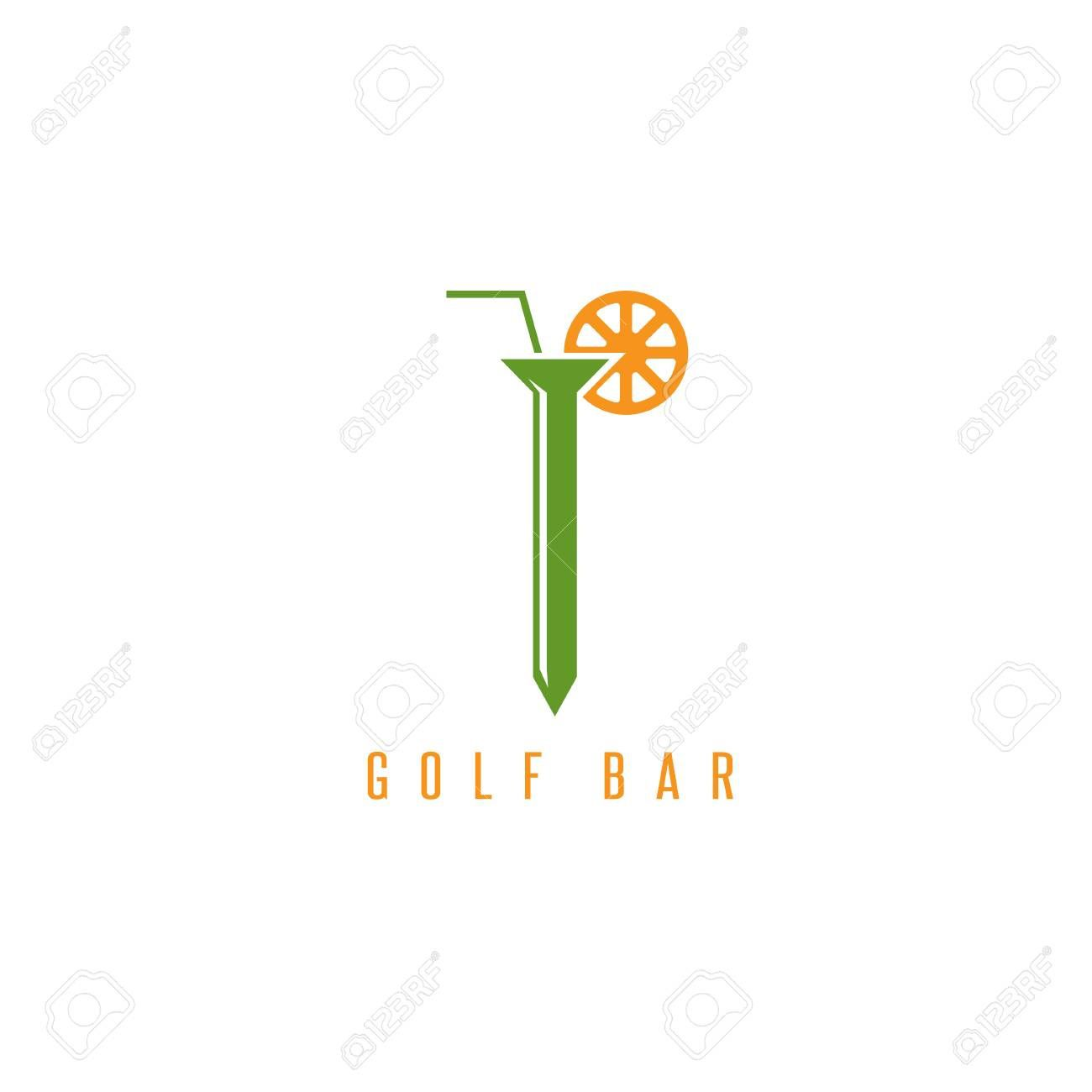 000 Unusual Golf Tee Game Template Concept  TriangleFull