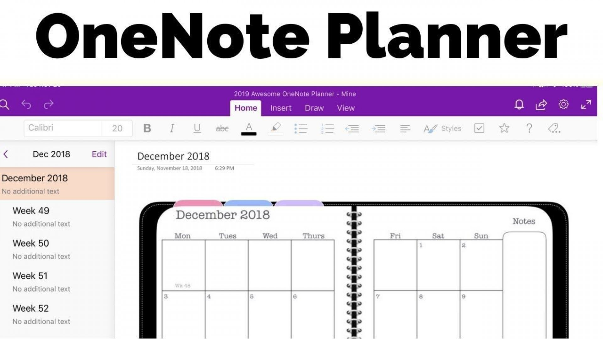 000 Unusual Onenote Project Management Notebook Template Highest Quality 1920
