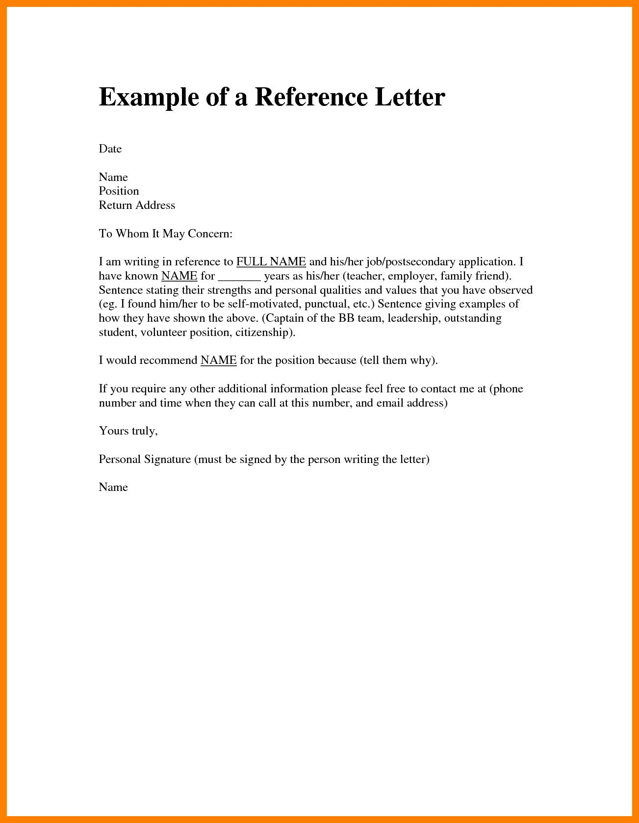 Reference Letter For Citizenship Sample from www.addictionary.org