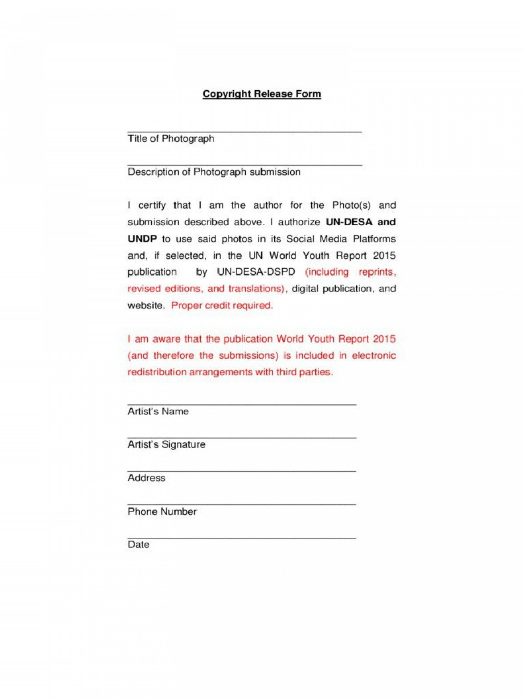 000 Unusual Photo Release Form Template Example  Video Consent Australia Free AndLarge