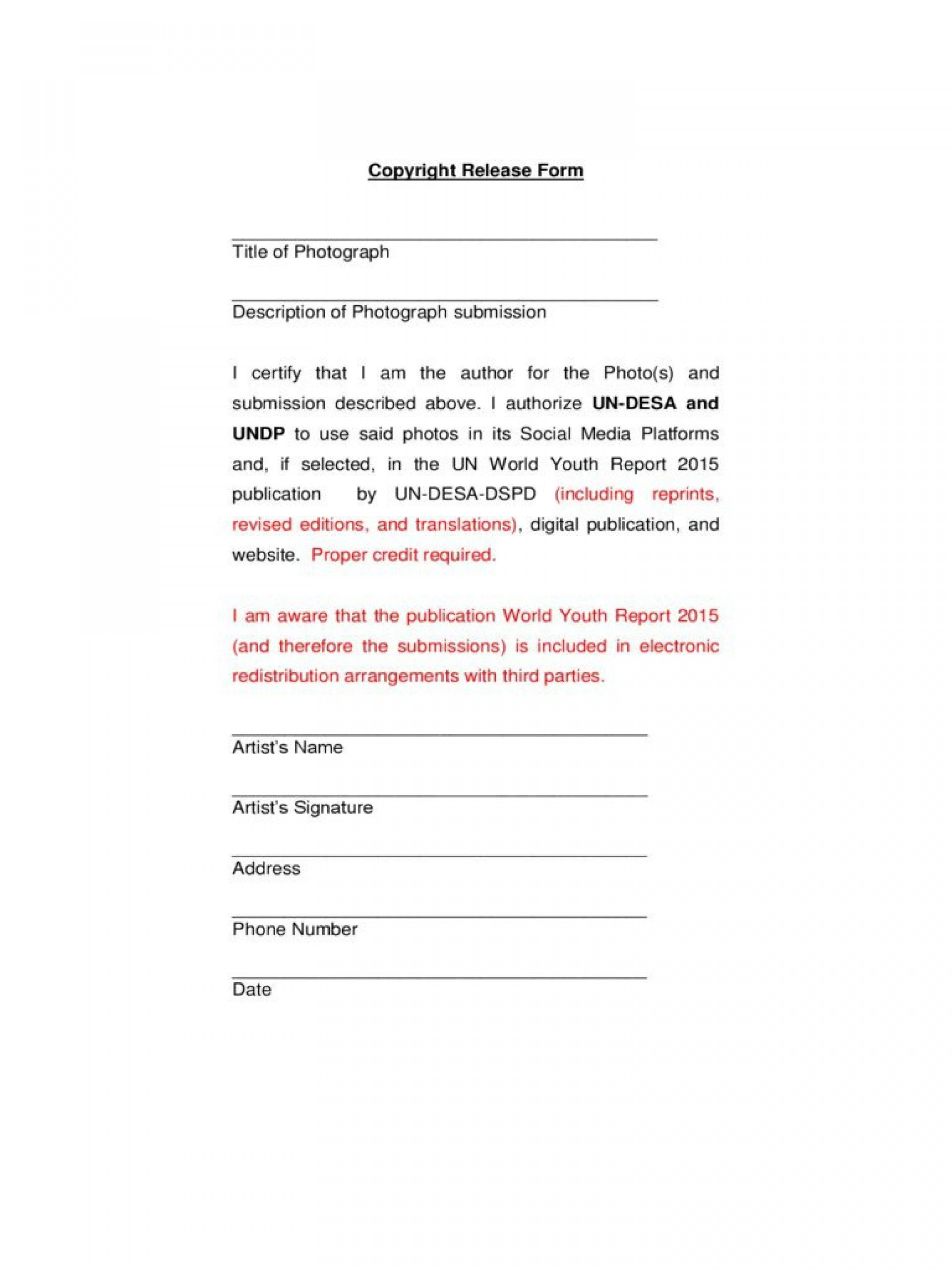 000 Unusual Photo Release Form Template Example  Video Consent Australia Free And1920