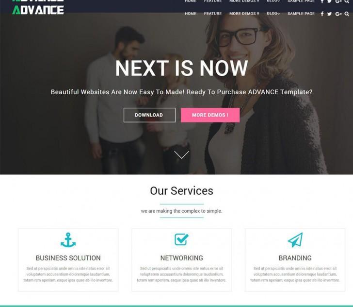 000 Unusual Professional Busines Website Template Free Download Wordpres Concept 728