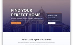 000 Unusual Real Estate Agent Website Template Photo  Templates Agency Responsive Free Download Company Web
