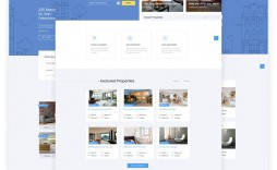 000 Unusual Real Estate Website Template Idea  Templates Free Download Bootstrap 4 Listing Wordpres