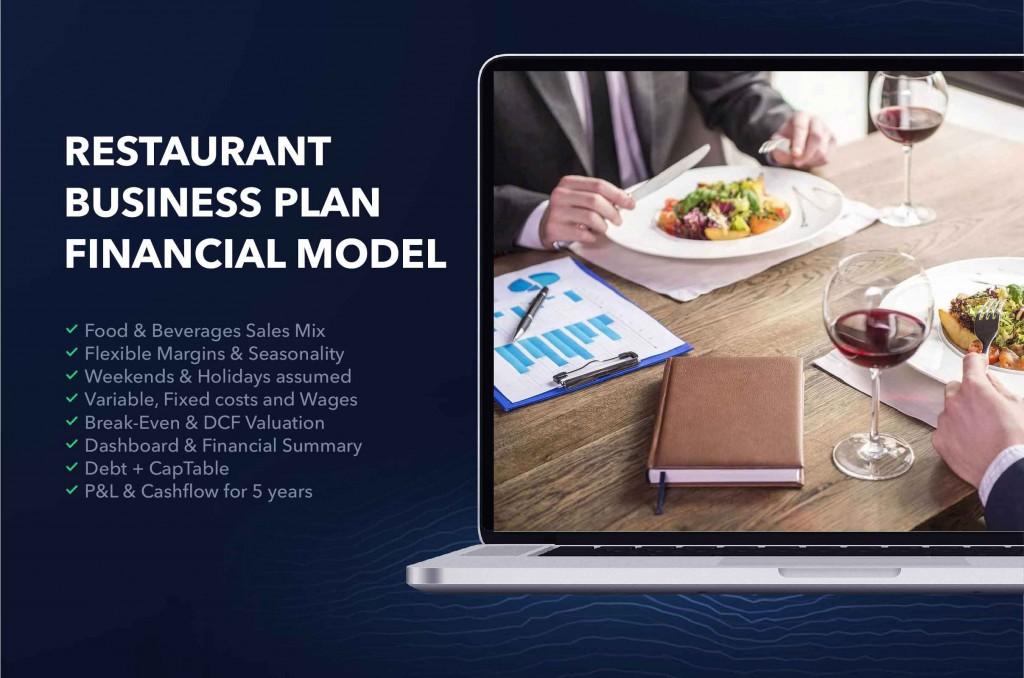 000 Unusual Restaurant Busines Plan Template Excel High Def  FreeLarge