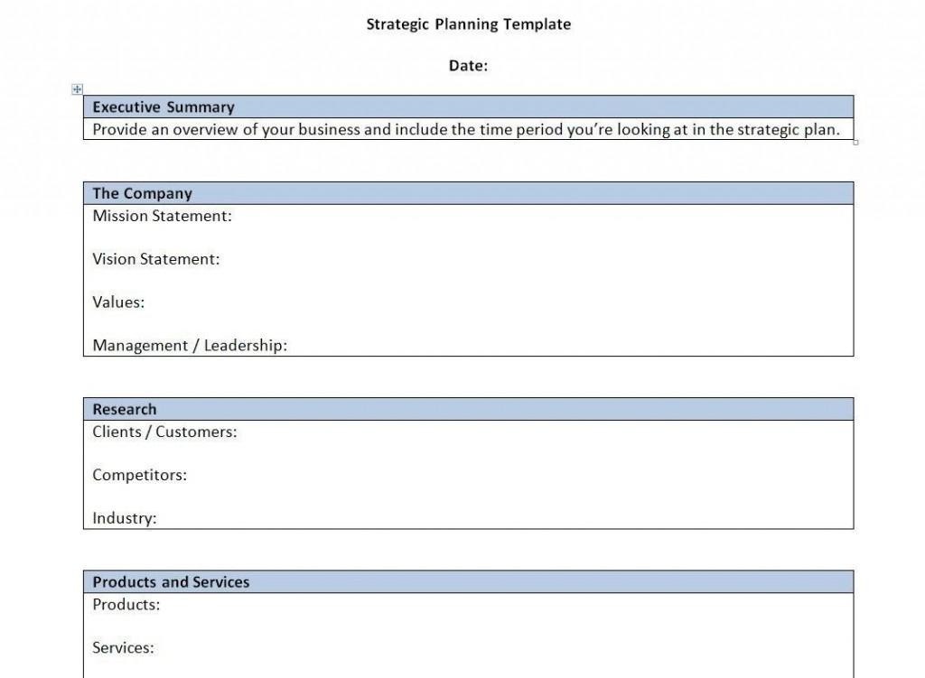 000 Unusual Strategic Plan Outline Template High Resolution  MarketingLarge