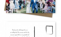 000 Unusual Thank You Card Template Wedding Idea  Free Printable Publisher