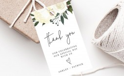 000 Unusual Wedding Favor Tag Template High Definition  Templates Editable Free Party Printable