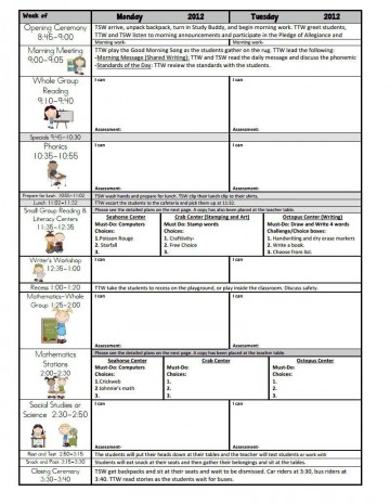 000 Unusual Weekly Lesson Plan Template Google Doc Image  Ubd Siop360