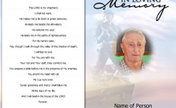 000 Unusual Write Your Own Obituary Template Inspiration