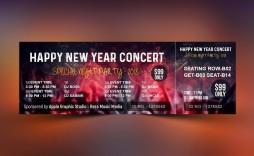 000 Wonderful Event Ticket Template Photoshop Idea  Design Psd Free Download