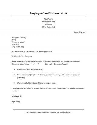 000 Wonderful Free Income Verification Form Template Image 320