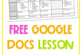 000 Wonderful Free Weekly Lesson Plan Template Google Doc Picture