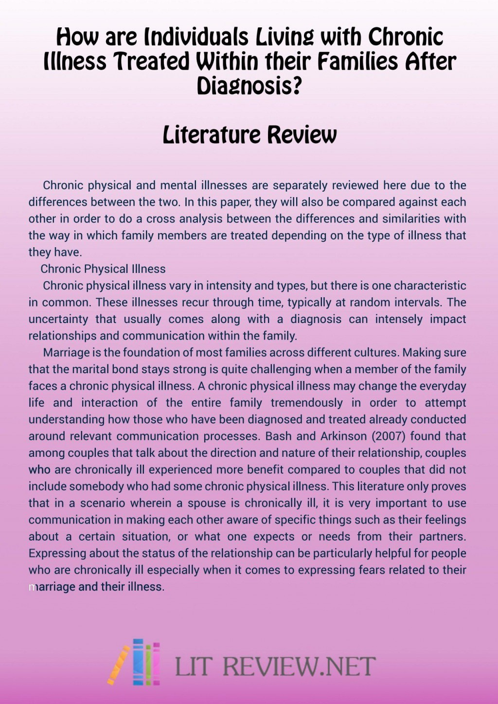 000 Wonderful Literature Review Example Apa Image  Style 6th Edition 7thLarge