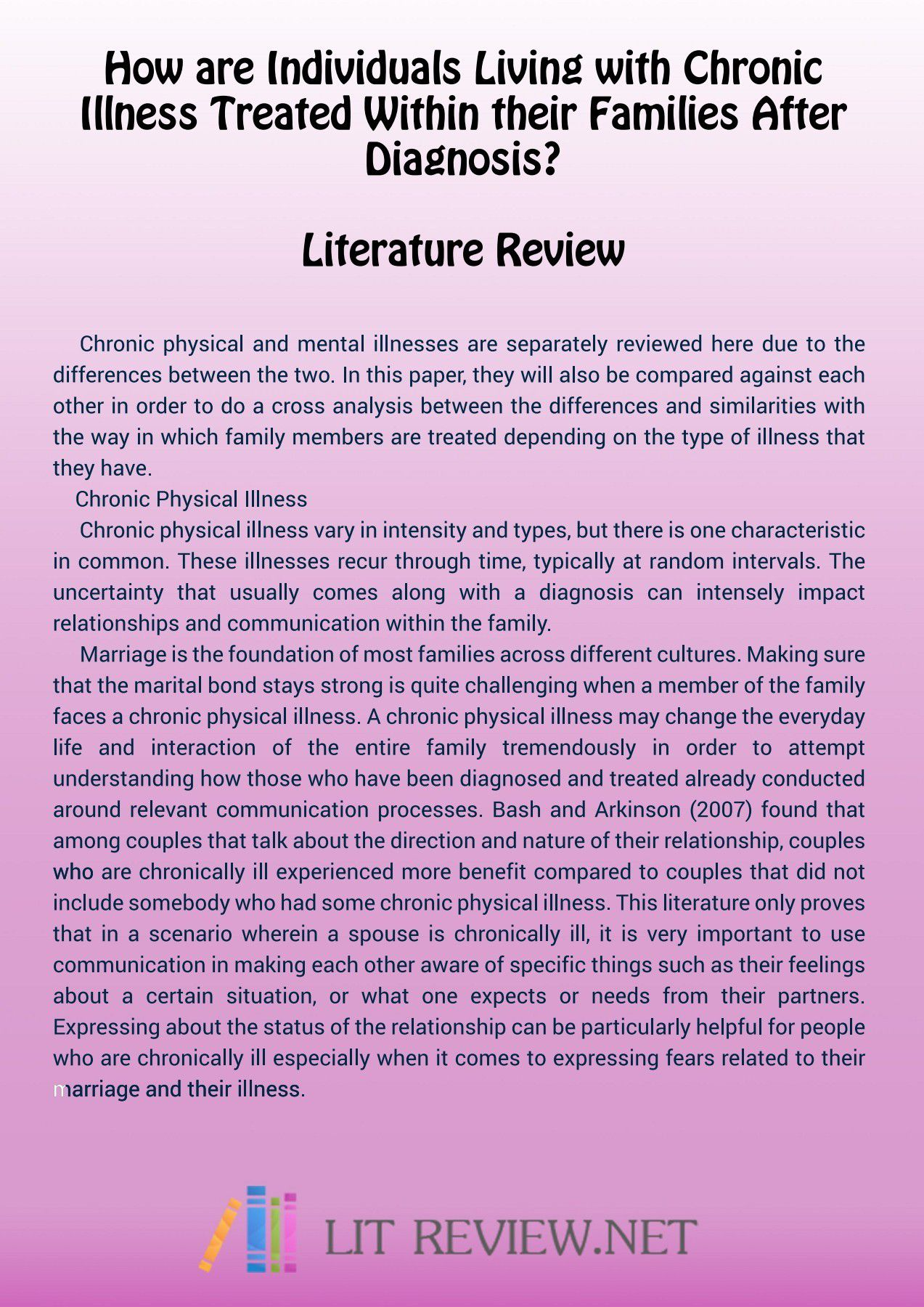 000 Wonderful Literature Review Example Apa Image  Style 6th Edition 7thFull