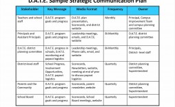 000 Wonderful Marketing Communication Plan Template Highest Clarity  Example Pdf Excel Integrated