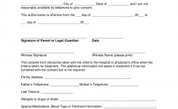 000 Wonderful Medical Release Form Template High Definition  Free Consent Uk For Minor