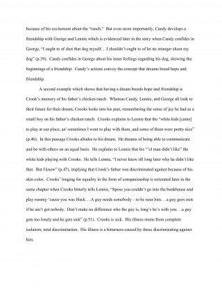 000 Wonderful Of Mice And Men Essay Sample  Prompt Topic320