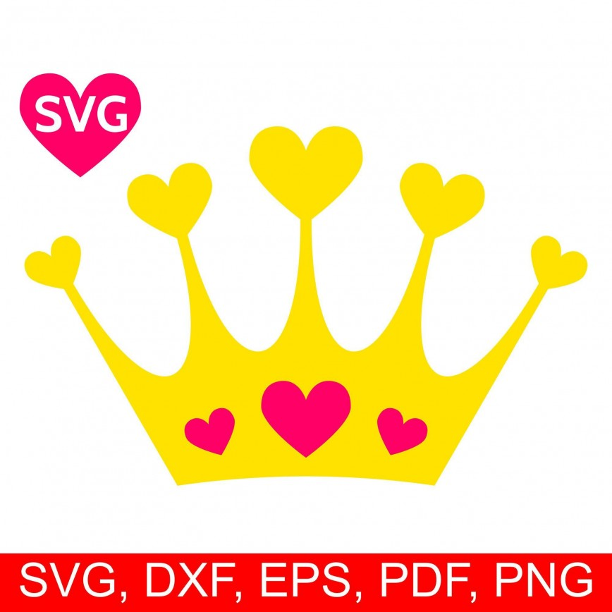 000 Wonderful Queen Of Heart Crown Printable Design  Template