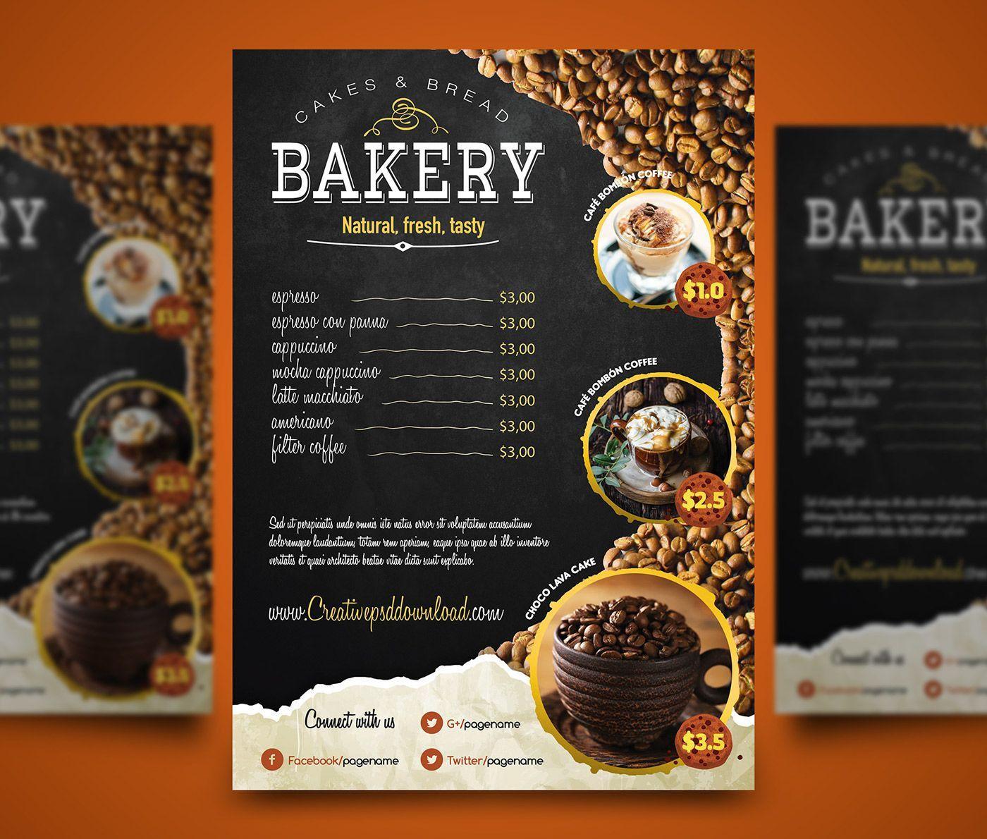 000 Wonderful Restaurant Menu Template Free Download High Definition Full