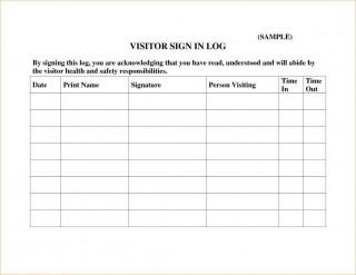 000 Wonderful Visitor Sign In Sheet Template Pdf Sample 320