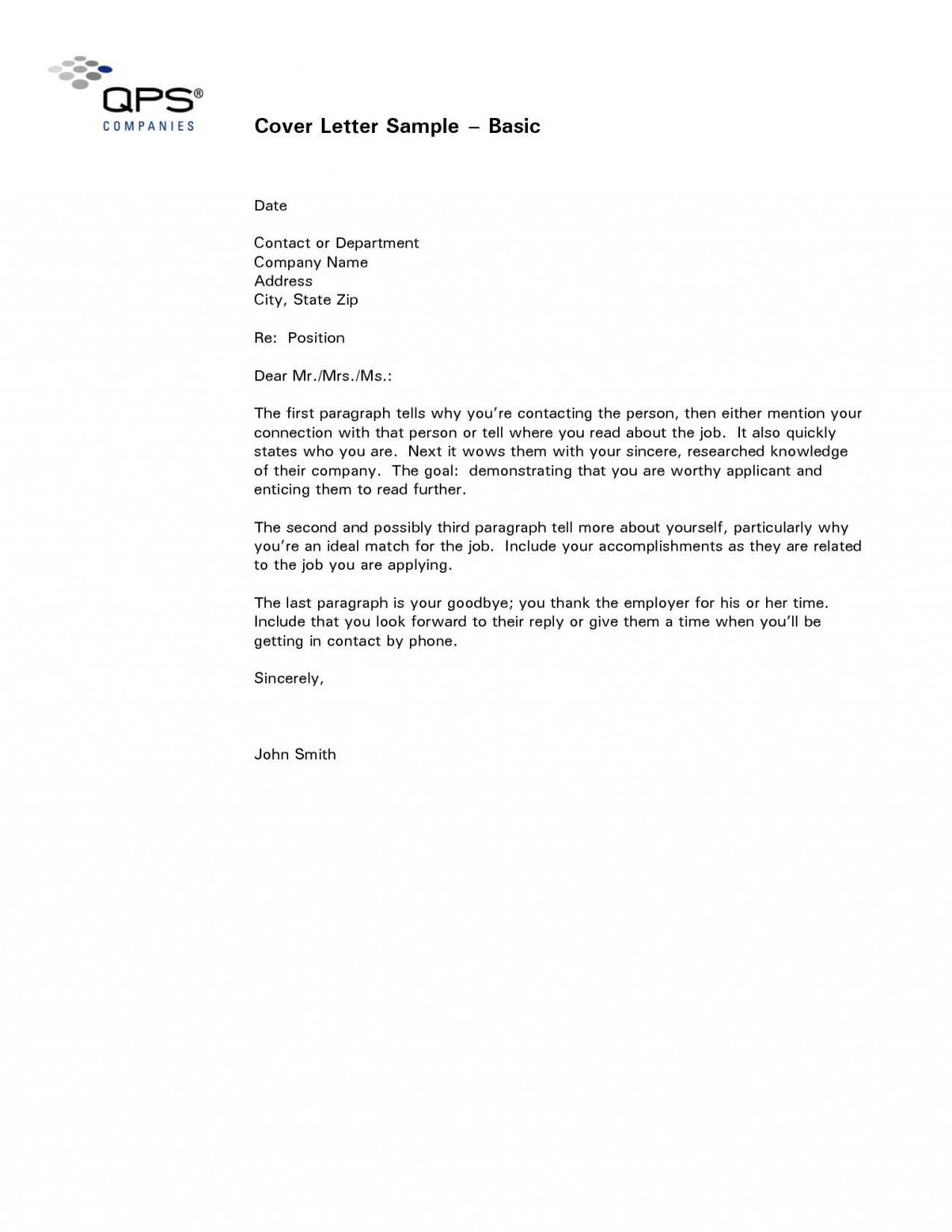 000 Wondrou Easy Cover Letter Template Sample  Download Word Simple DocumentLarge