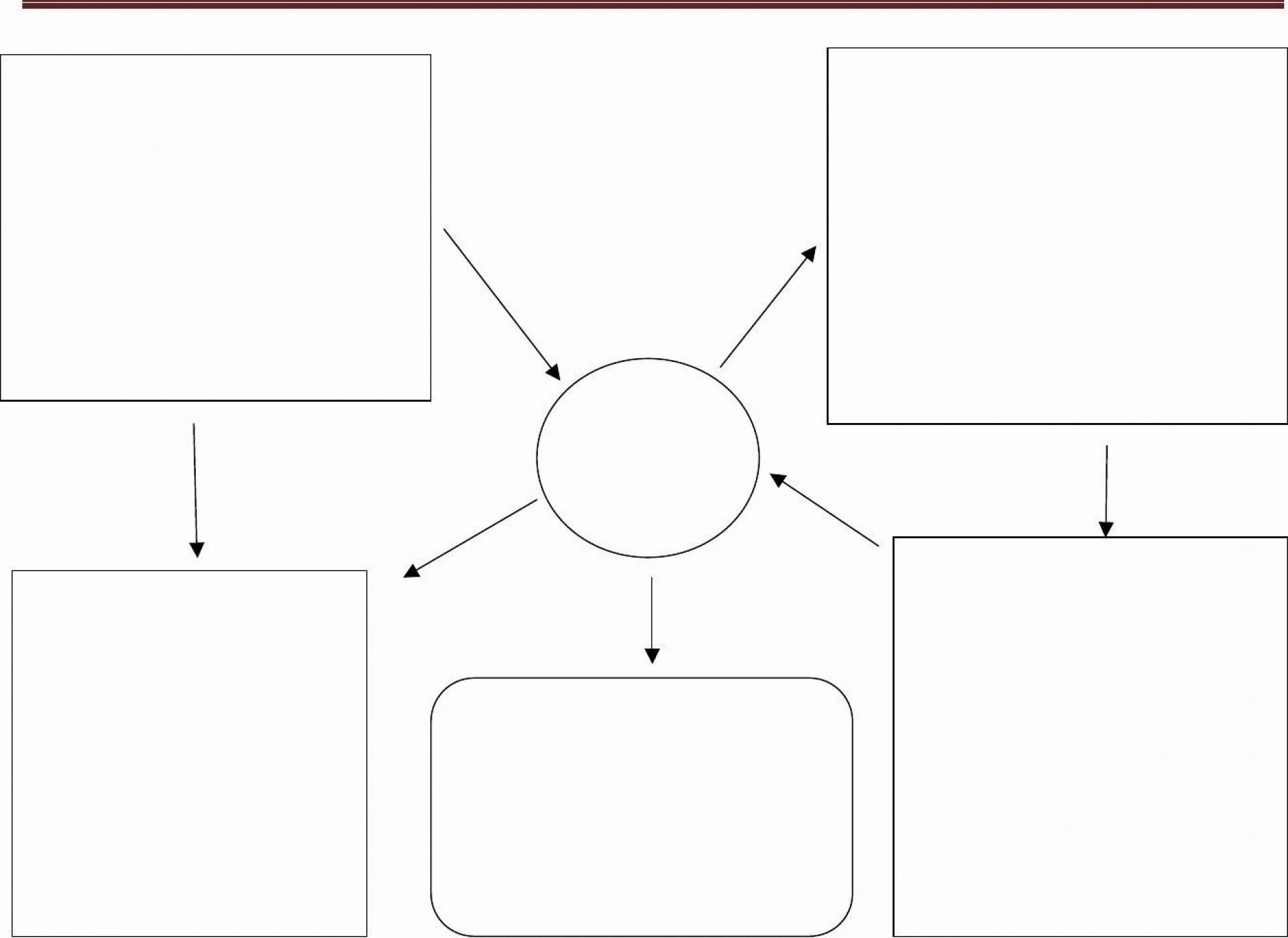 000 Wondrou Free Blank Concept Map Template Highest Clarity  Printable Nursing1920