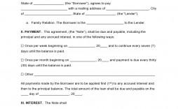 000 Wondrou Free Family Loan Agreement Template Nz High Definition