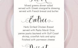 000 Wondrou Free Printable Wedding Menu Card Template Design  Templates