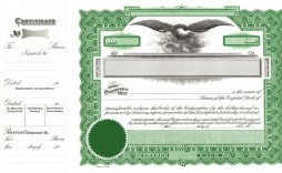 000 Wondrou Free Stock Certificate Template Highest Clarity  Word Form Downloadable
