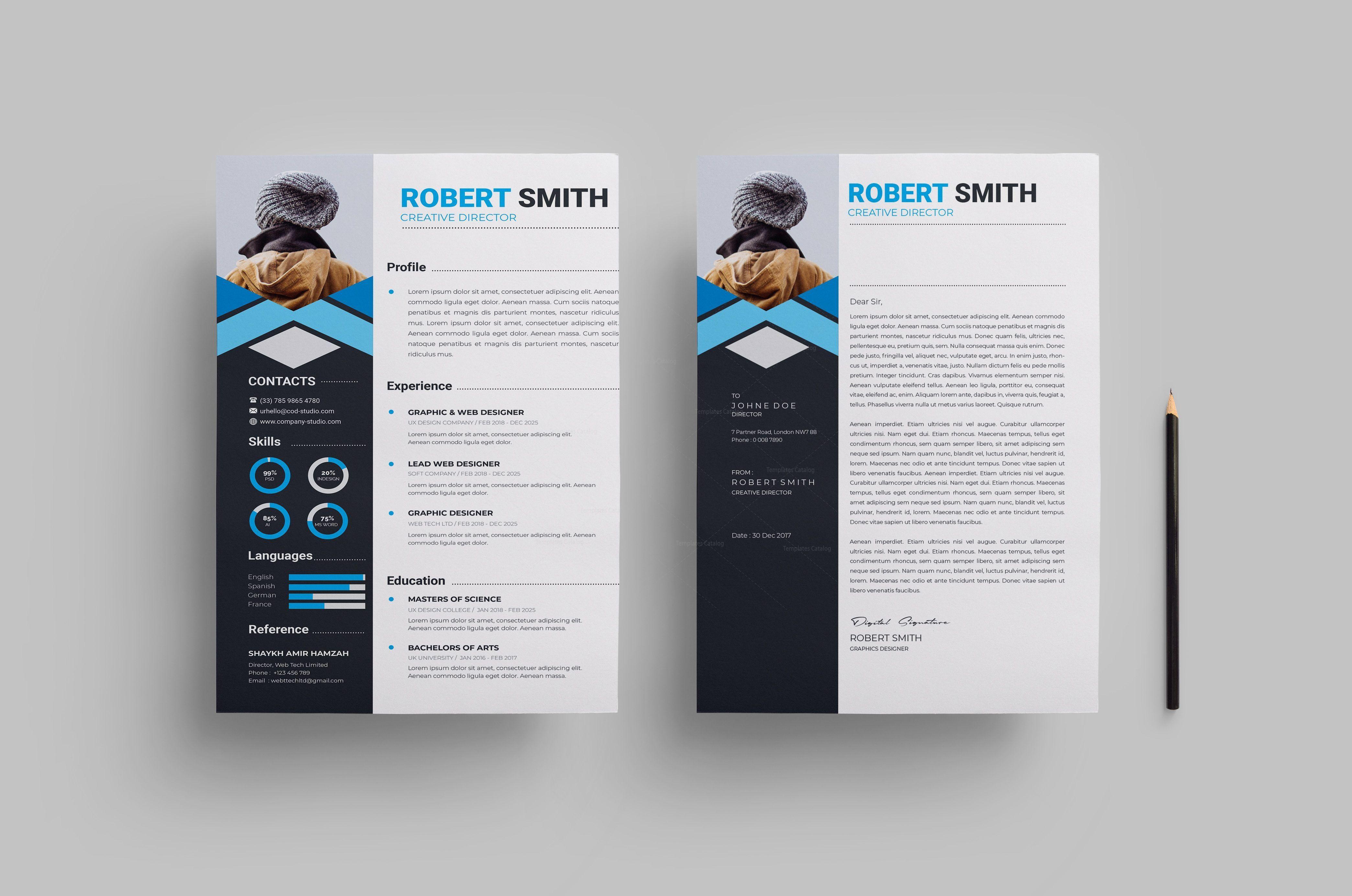 000 Wondrou Free Stylish Resume Template Photo  Templates Word DownloadFull