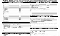 000 Wondrou Hvac Service Agreement Template Image  Contract Form Maintenance Pdf
