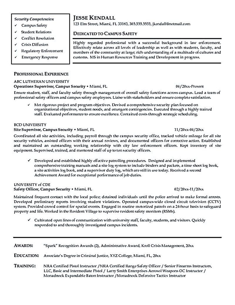 000 Wondrou Law Enforcement Resume Template High Resolution  Federal PromotionFull