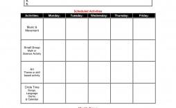 000 Wondrou Lesson Plan Template Preschool Design  Free Week Sample