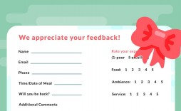 000 Wondrou Restaurant Customer Comment Card Template Highest Quality  For Word Free