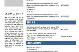 000 Wondrou Resume Microsoft Word Template Photo  Cv/resume Design Tutorial With Federal Download