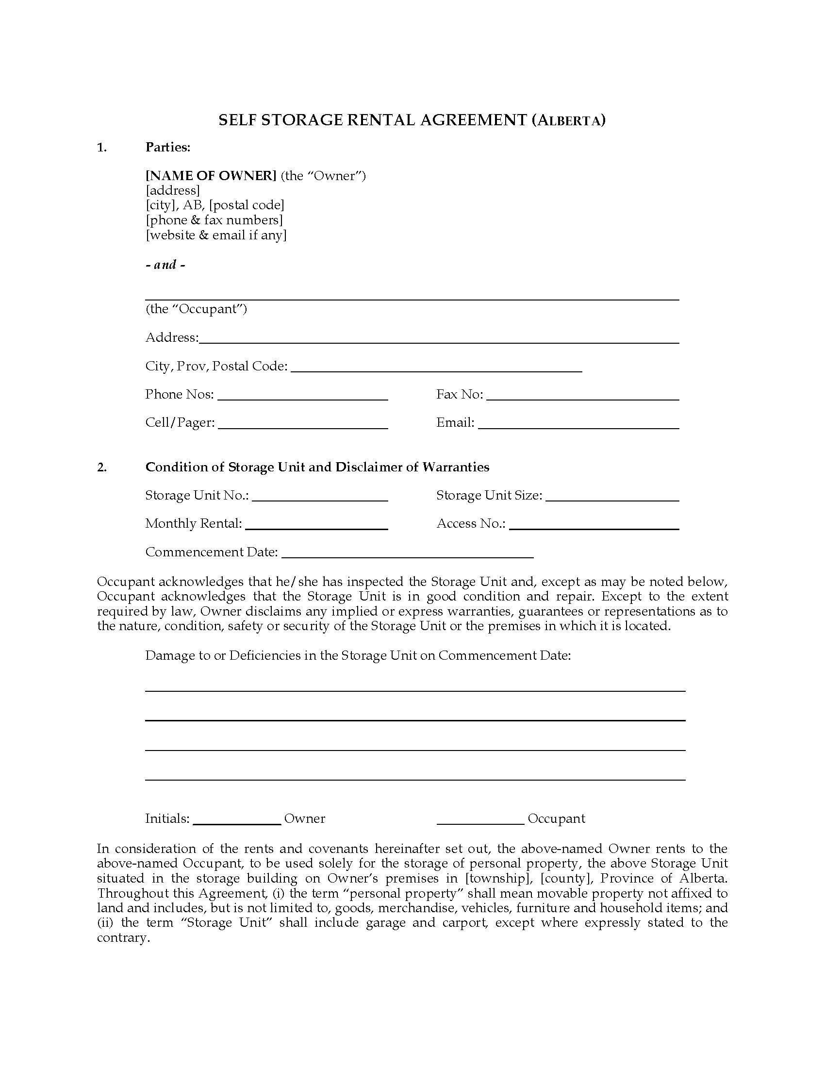 000 Wondrou Room Rental Agreement Template Alberta Example Full