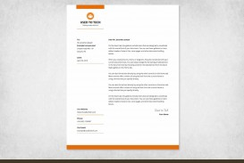 000 Wondrou Sample Letterhead Template Free Download  Professional Design In Word Format