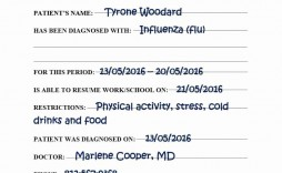 000 Wondrou Urgent Care Doctor Note Template Idea  Sample Printable