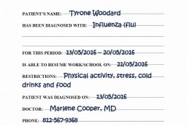 000 Wondrou Urgent Care Doctor Note Template Idea  Sample Fake Doctor' Printable