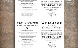 000 Wondrou Wedding Welcome Bag Letter Template Free Example