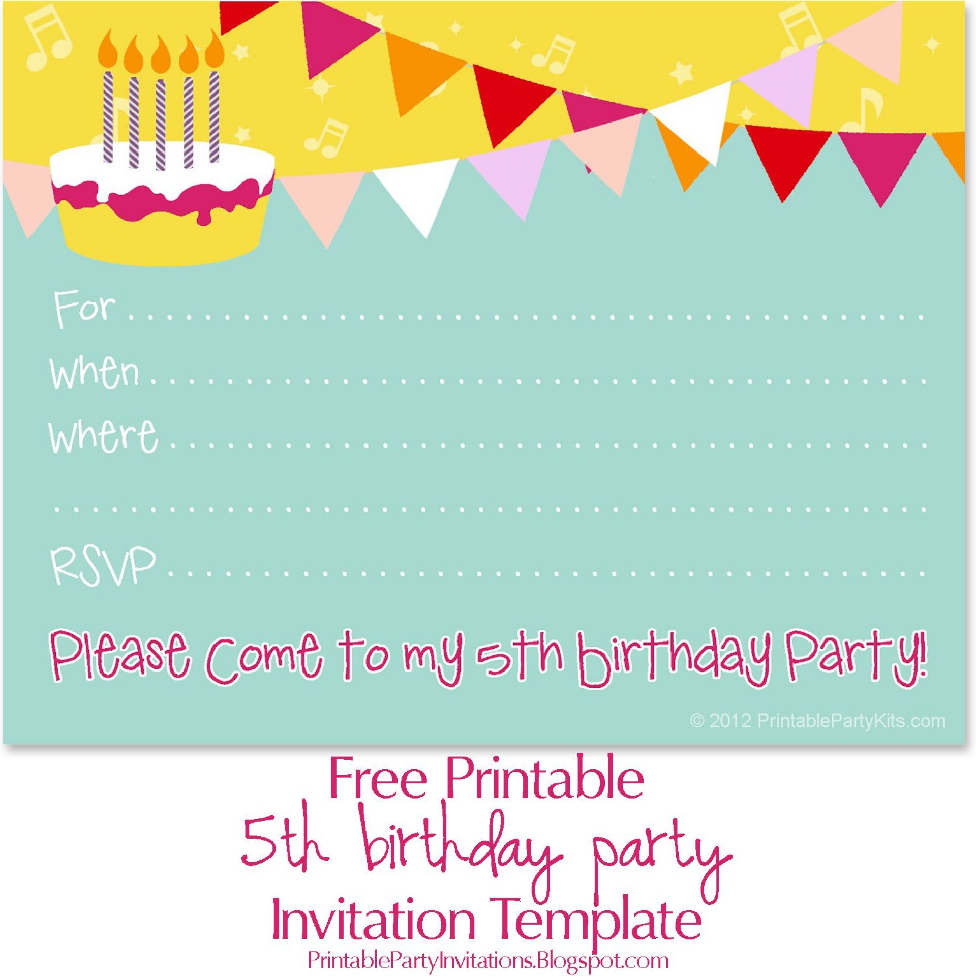 001 Amazing Birthday Invitation Template Free Download Idea  Editable Video Twin First Downloadable 18th Printable1920