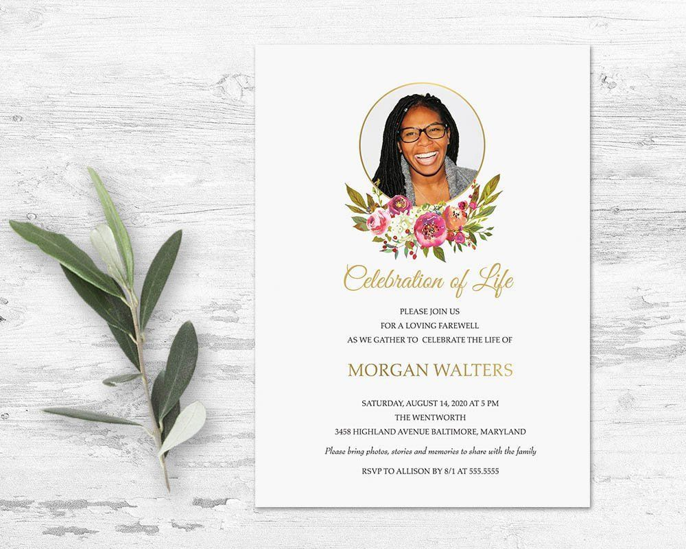 001 Amazing Celebration Of Life Template Image  Powerpoint Program Download Announcement FreeFull