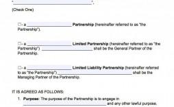001 Amazing Free Busines Partnership Agreement Template Design  Online Nz Download