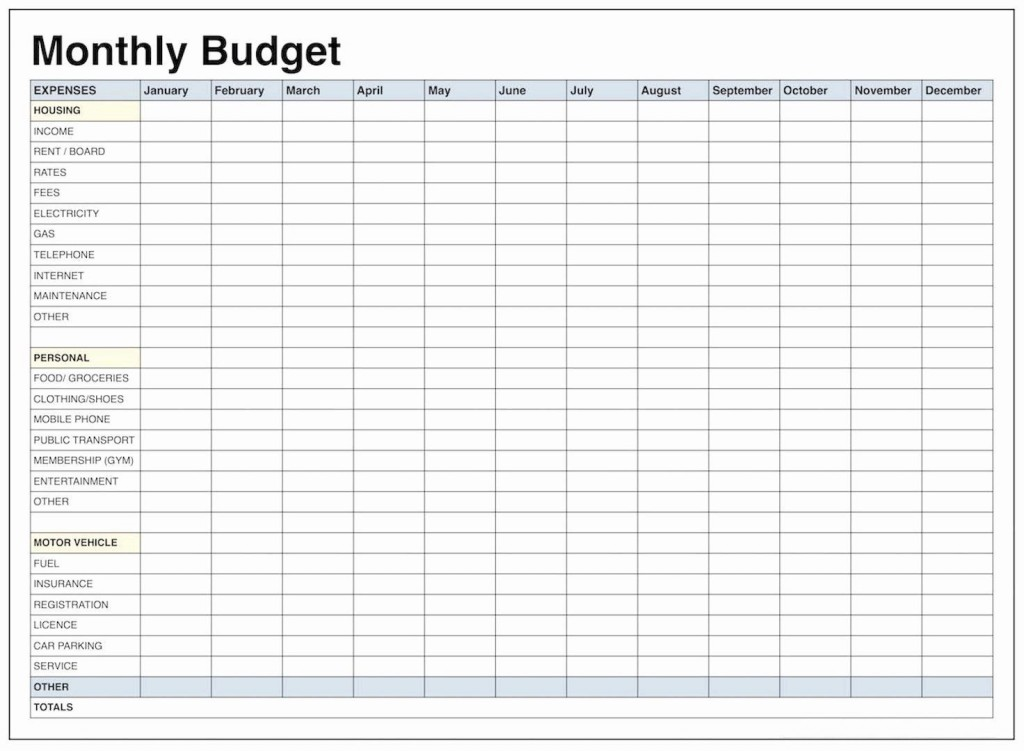 001 Amazing Free Monthly Budget Worksheet Printable Design  Template Family BlankLarge