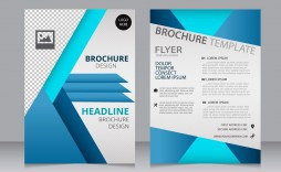 001 Amazing M Word Brochure Template Free Download Concept  Microsoft 2007