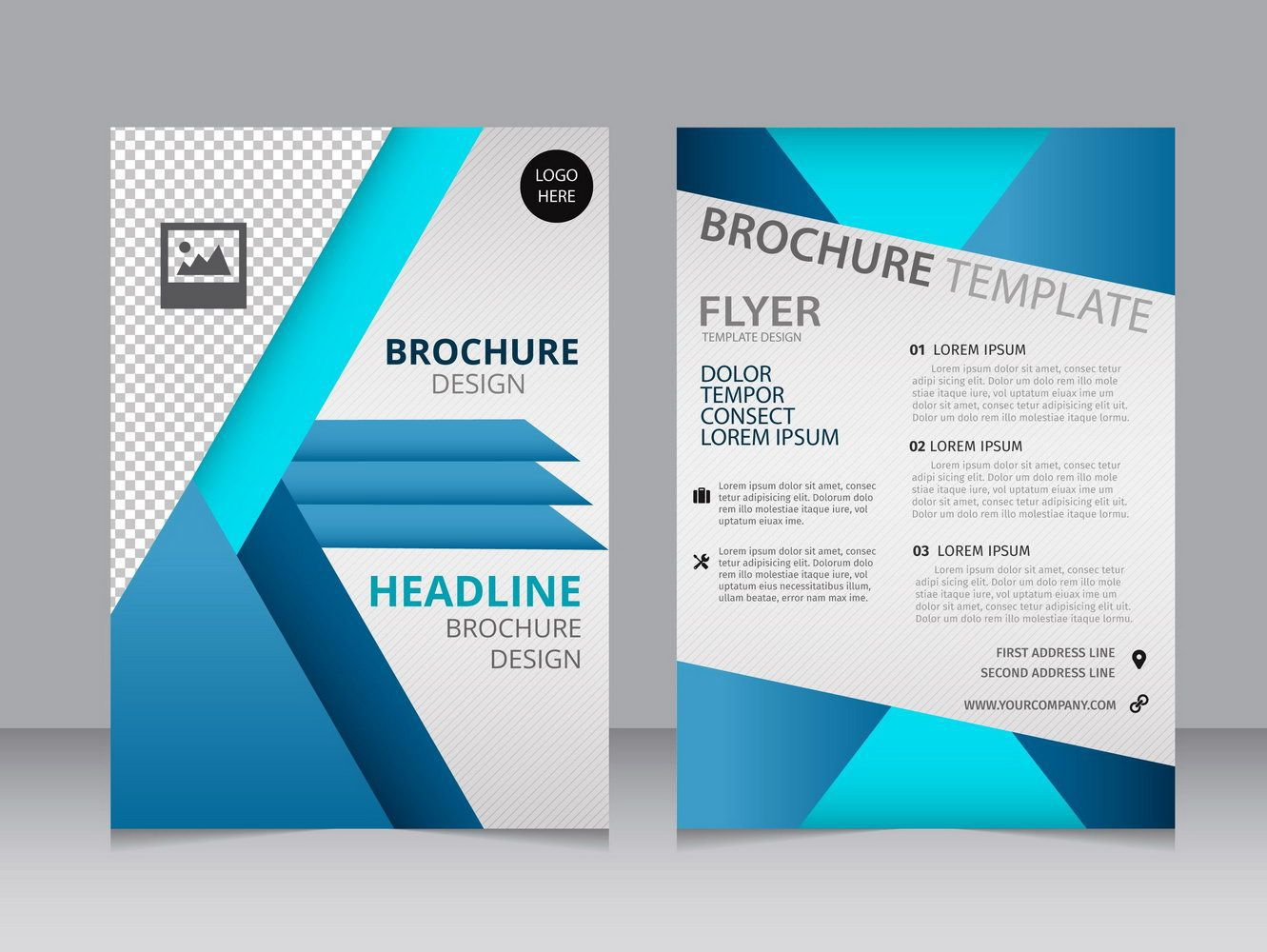 001 Amazing M Word Brochure Template Free Download Concept  Microsoft 2007Full