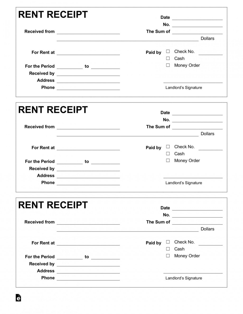 001 Amazing Rent Payment Receipt Template Inspiration  Excel FreeLarge